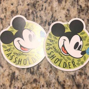 Disney World Passholder Magnets